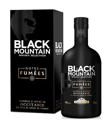 Whisky notes fumees black mountain compagny spiritueux